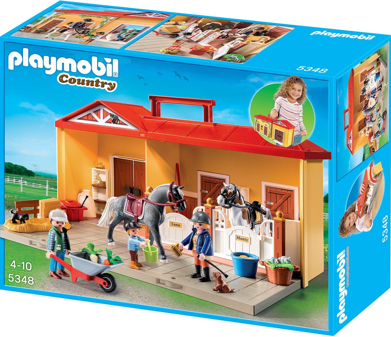 Playmobil 5348 - Playmobil Pferdestall zum Mitnehmen