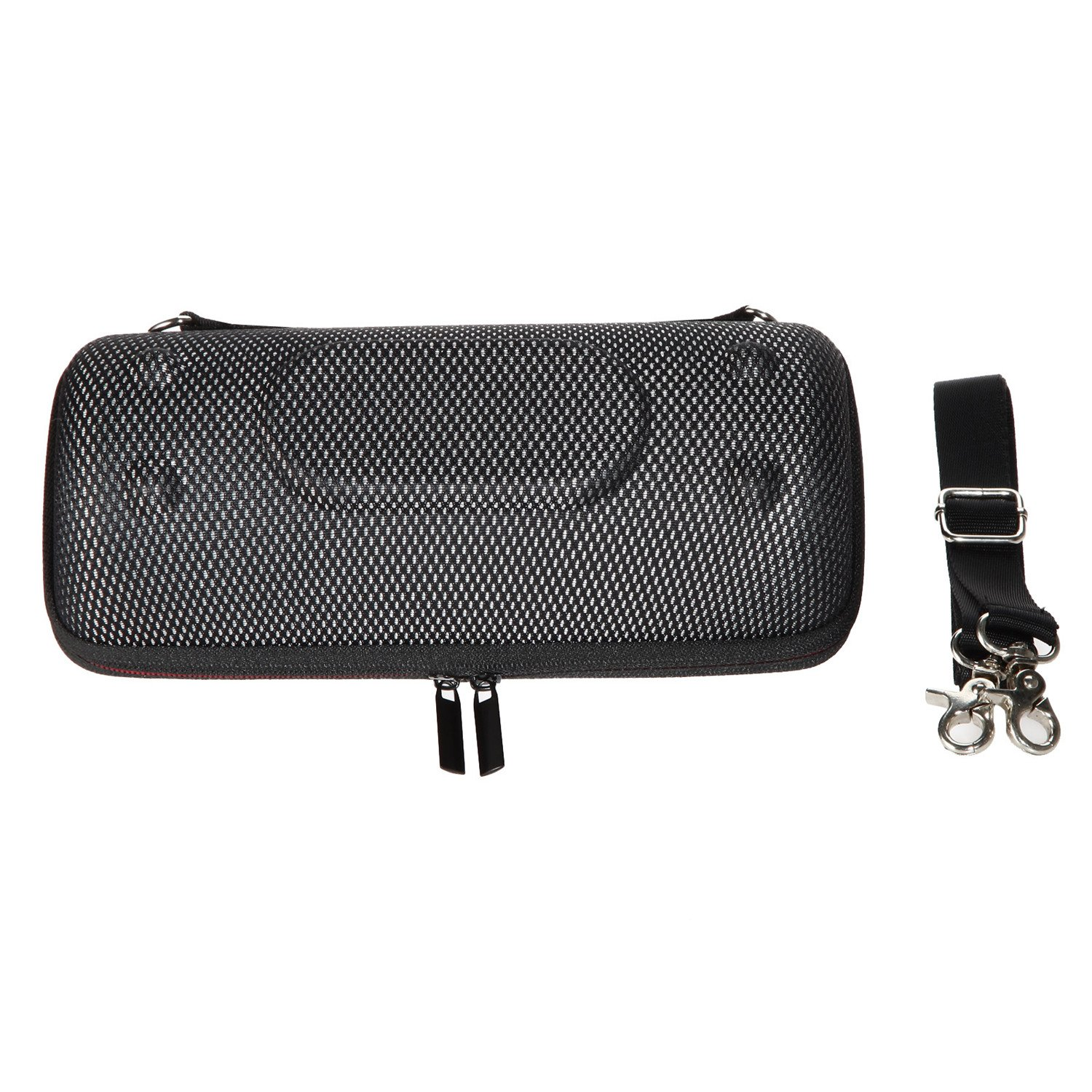 LuckyNV Hard EVA Protective Storage Case for JBL Charge 3 Wireless Bluetooth Portable Speaker (Black-A) L136-JBL3-A