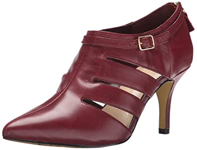Womens Bella Vita Dylan Pumps Leather Burgundy