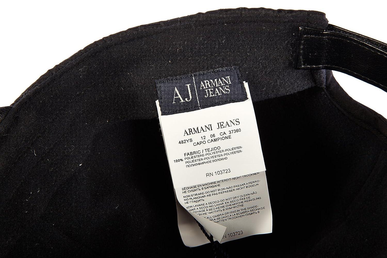 Logo Cappello Berretto Armani Uomo Jeans Originale Regolabile U4aq6w 9c03a82fc294