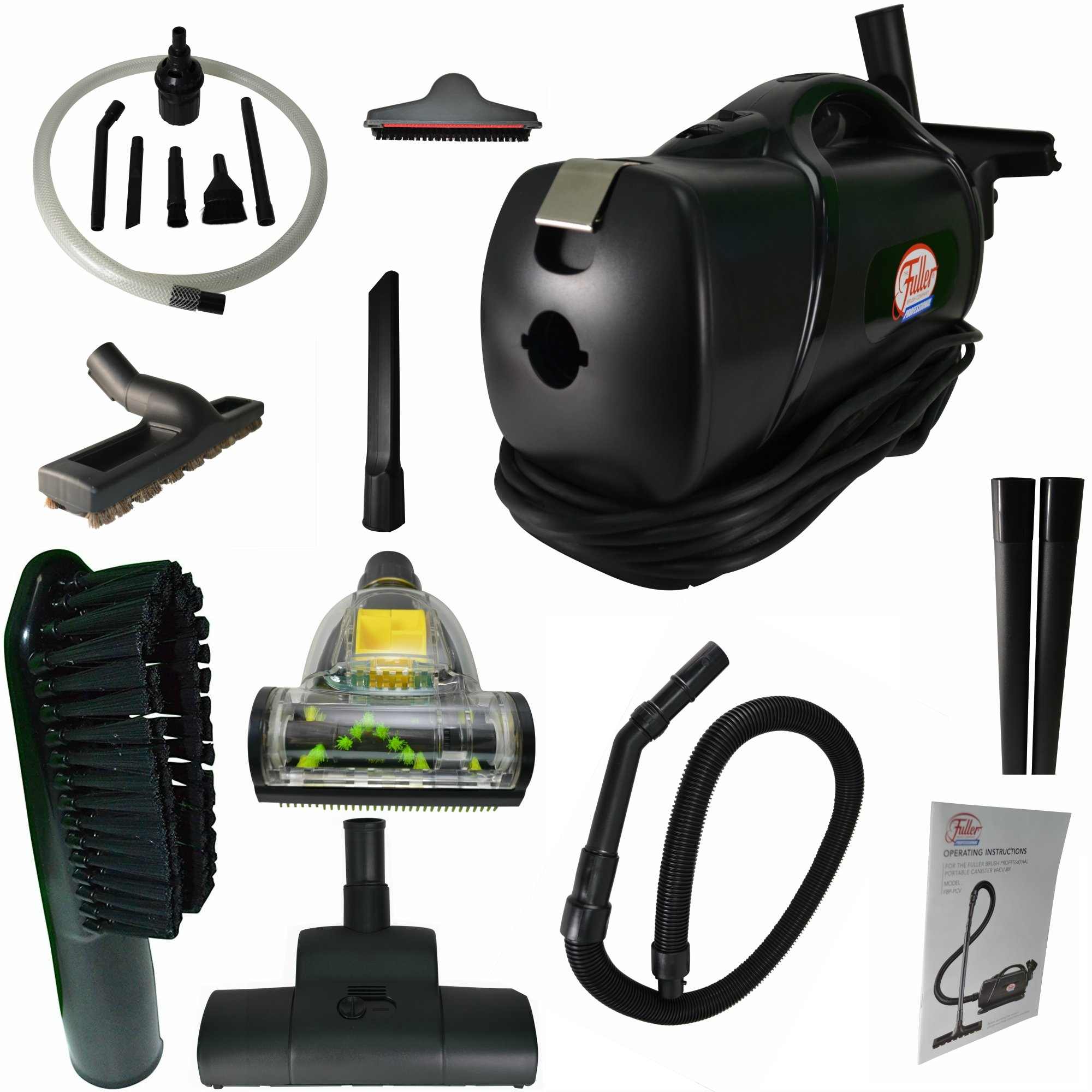 Portable Lightweight Commercial HandHeld Vacuum W/ Blower & HEPA Certified Vacuum Bags, Added Premium Attachments & Micro Attachment Kit. FBP-PCV Fuller Brush Quality Vacuum, Works Great for Pet Hair! by Fuller Brush
