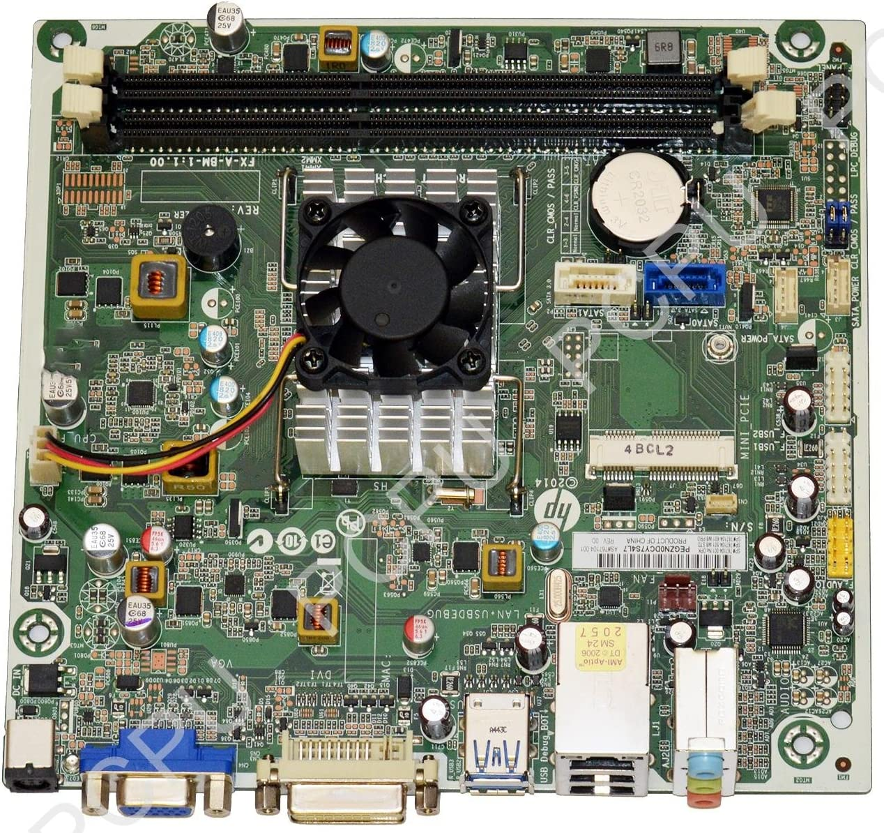 767104-001 HP 110-414 Camphor2 Beema Desktop Motherboard w/ AMD A8-6410 2.0GHz CPU