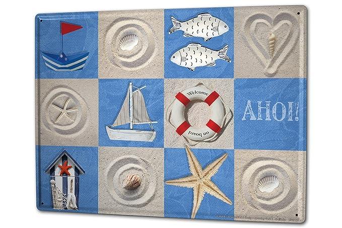 Cartelli Bagno Da Stampare : Cartello targa in metallo xxl retro strassek bagno decorazione