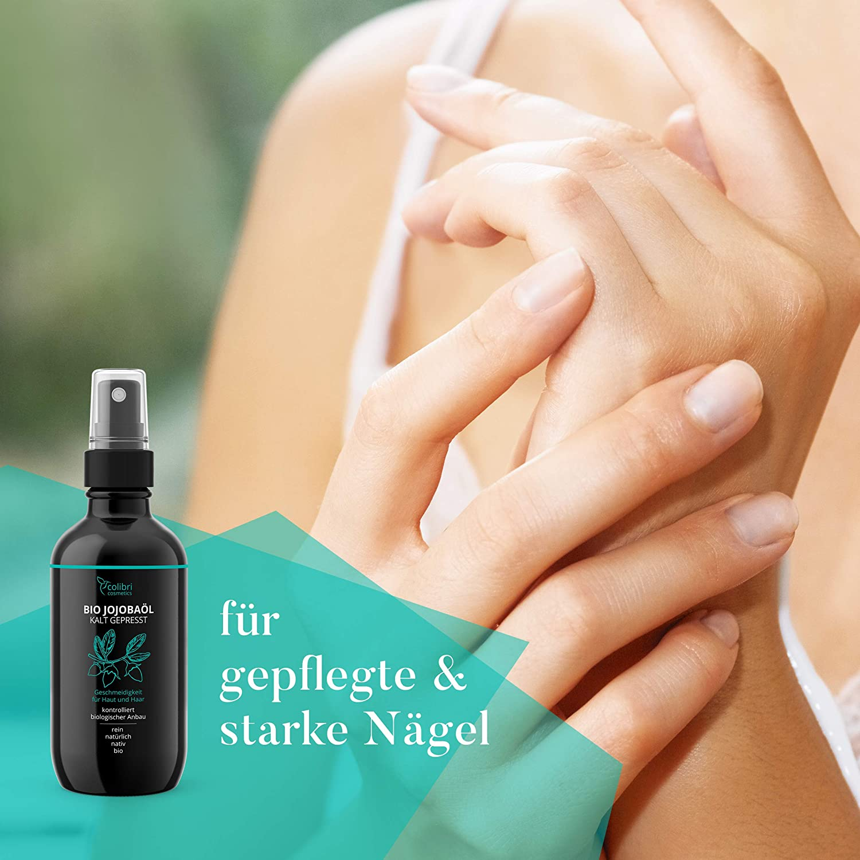 Bio Jojobaöl 100 Rein Für Gesunde Haare Weiche Haut Und Starke
