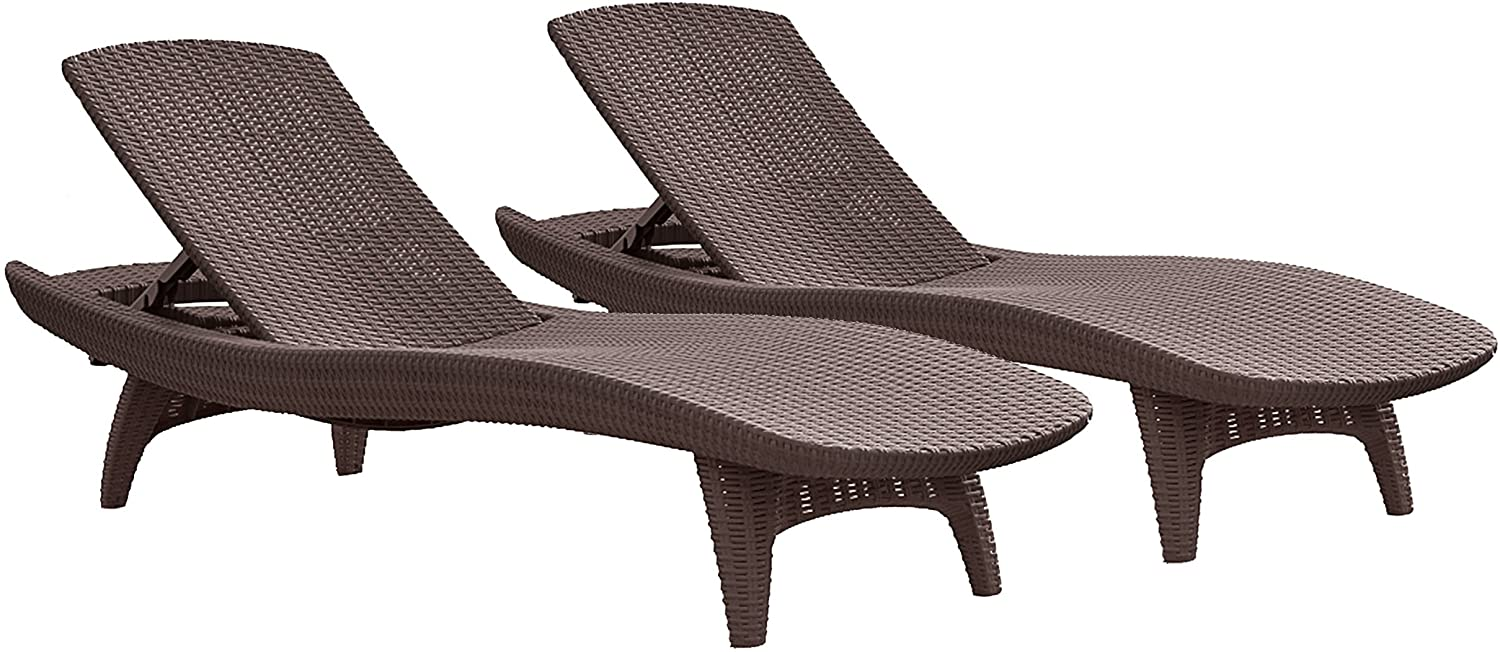 2 Armchairs 1 Coffee Table GIGLIO Garden Plastic Loung Set