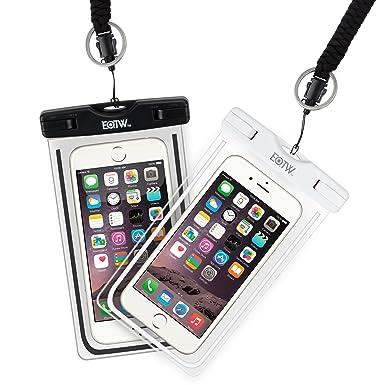 0938ff8d99a EOTW Funda Impermeable Móvil 2 Pack Bolsa Funda Sumergible Para Huawei P9  P8 iPhone 5 6 6S ...