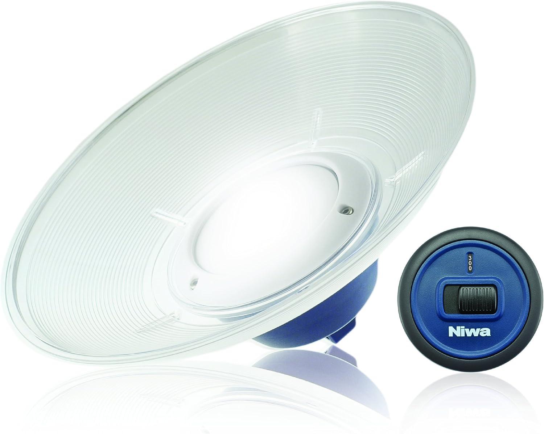 NIWA–Home 300–USB lámpara–300lúmenes–Integrada 5V USB lámpara con 4m kabellaenge, lámpara de Polvo y Agua Protección (IP44), luz Dimming