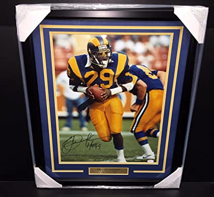 Image Unavailable. Image not available for. Color  Eric Dickerson  Autographed ... c277a1839