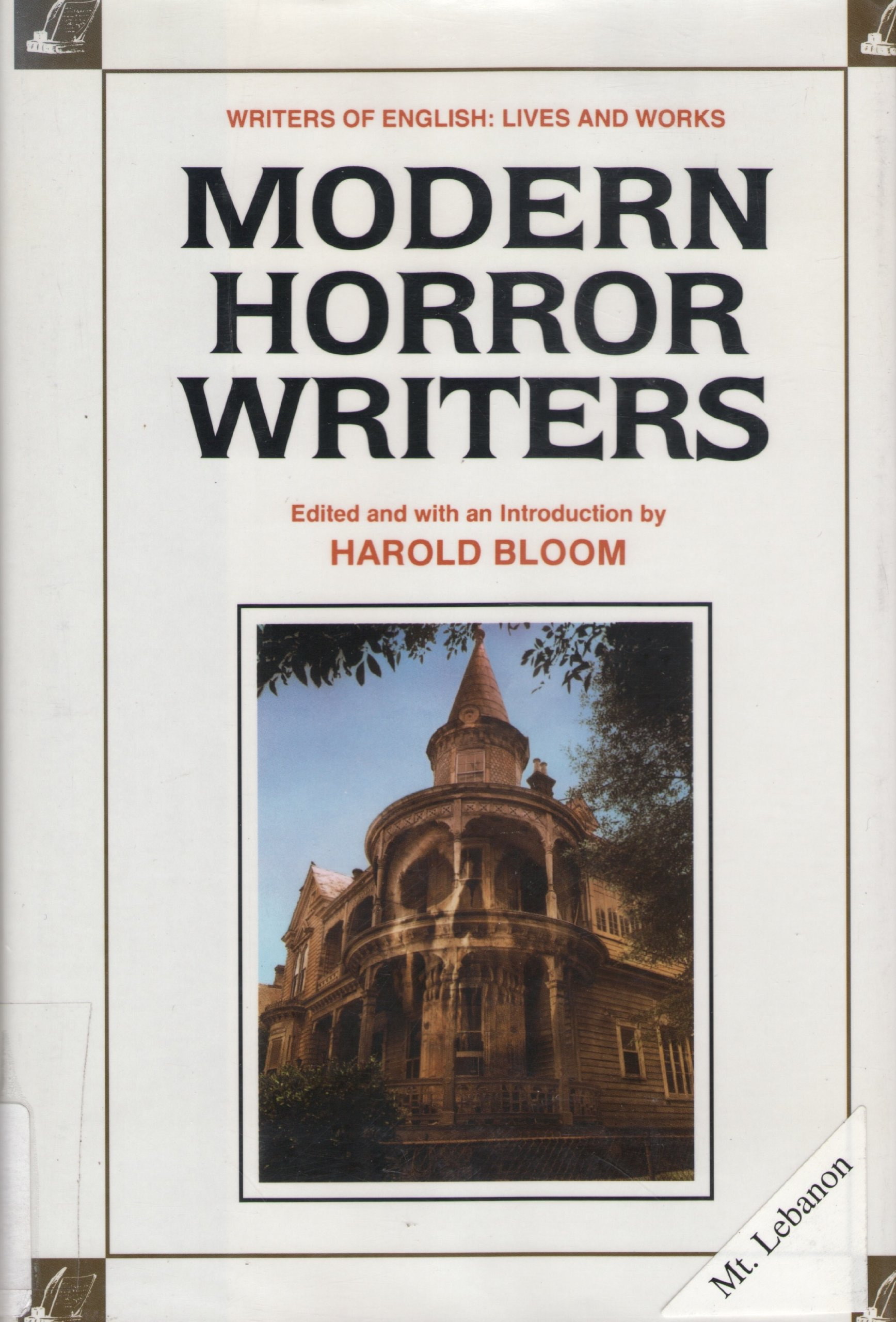 english horror writers