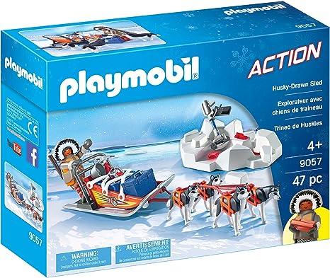 PLAYMOBIL- Trineo de Huskys, única (9057): Amazon.es: Juguetes y ...