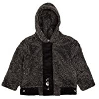 3Pommes 3417003 Baby Boy's Hooded Cotton Cardigan
