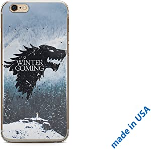 Game of Thrones iPhone Case iPhone 8 2017 Case Clear Transparent Silicone Flexible Cover ZIZDess (Game of Thrones)