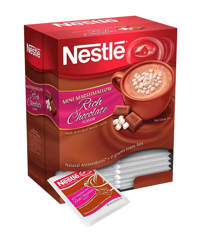 Amazon.com : Nestle Hot Cocoa Mix, Rich Chocolate with Mini ...