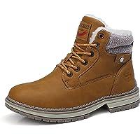 ASTERO Botas Mujer Invierno Zapatos Nieve Cálidas Botines Forradas Cordones Zapatillas Aire Libre Trekking Planas Boots…