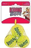 KONG Squeakair Dog Toy Tennis Ball - X-Small, Pack of 3