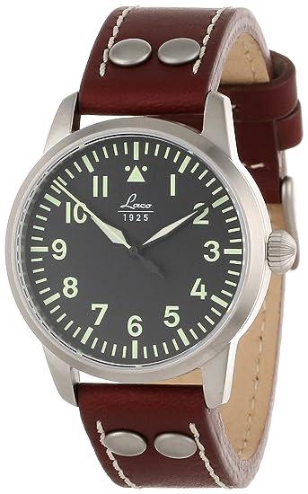 0b3880048ab19 Laco 1925 - 861798 - Montre Femme - Automatique - Analogique - Bracelet  Cuir Marron: Amazon.ca: Watches