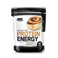 Deals on Optimum Nutrition On Protein Energy Powder, Cinnamon Bun 1.6lb