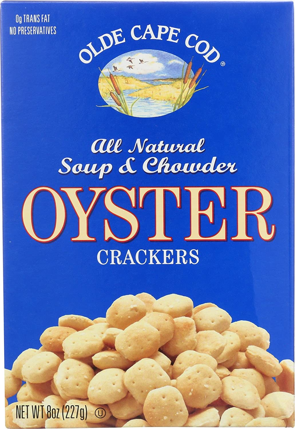 Westminster Cracker Co. Oyster Crackers, Transfat Free 8 oz. (Pack of 12) Olde Cape Cod