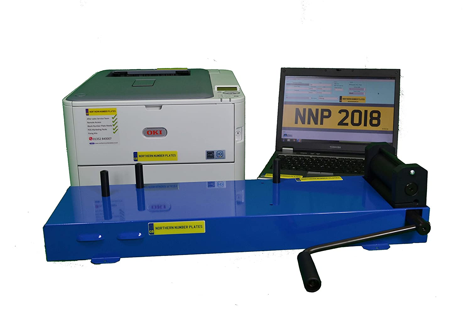 Number Plate Maker Near Me >> Number Plate Printer Maker Machine Amazon Co Uk Business