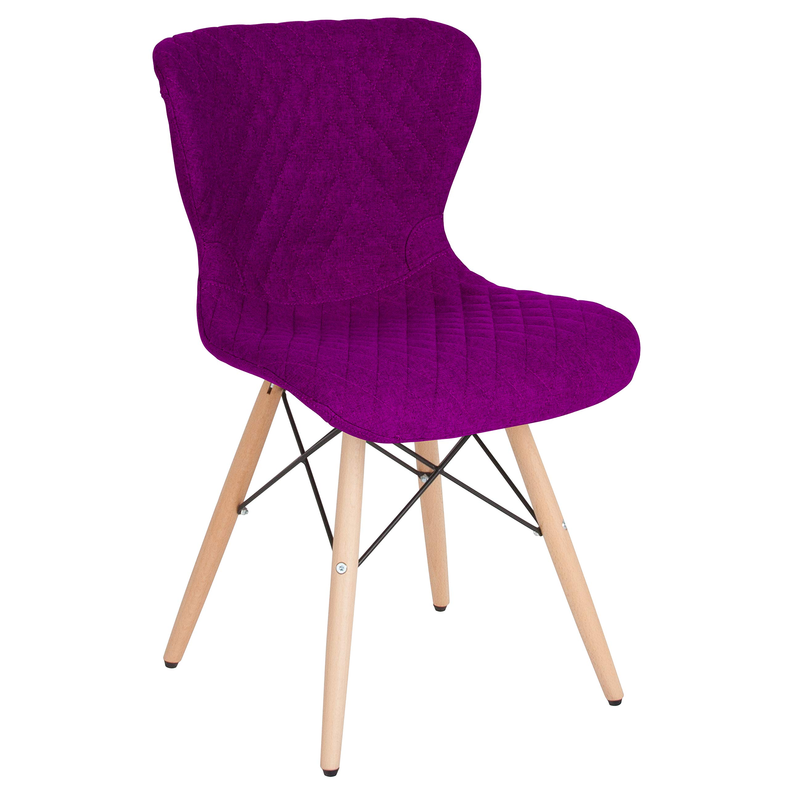 Flash Furniture LF-9-07M-PUR-F-GG Home and Office Chairs, Purple Fabric