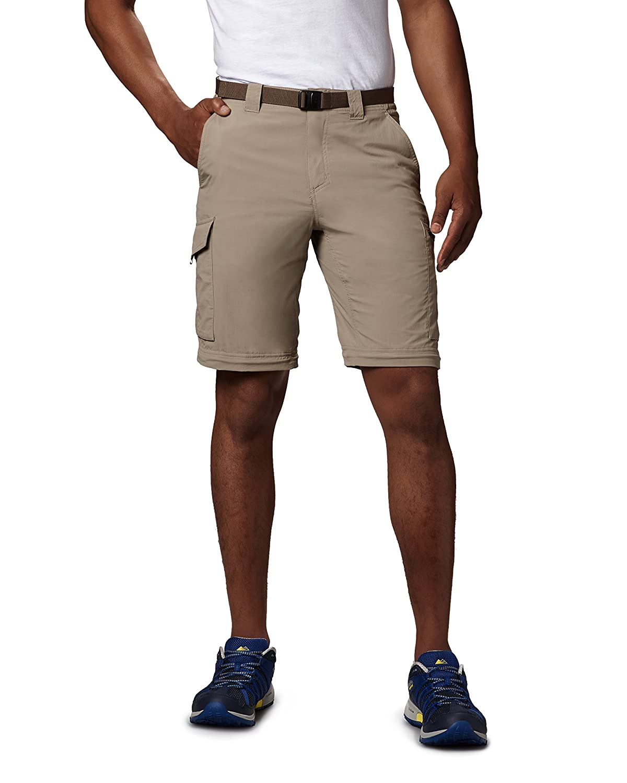 UPF 1441671 Columbia Mens Silver Ridge Convertible Pant Breathable