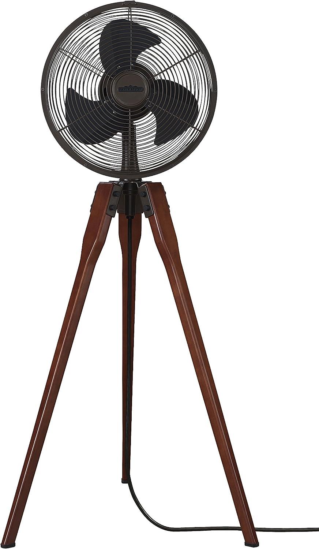 Damascene Fan on Stand