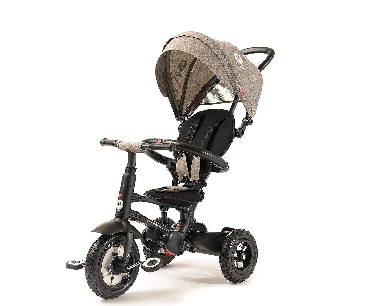 31175879955 Amazon.com : Q Play Rito Plus Foldable Trike (Grey) : Baby