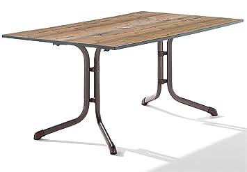 Amazon De Sieger 1180 75 Boulevard Tisch Mit Puroplan Platte 165 X
