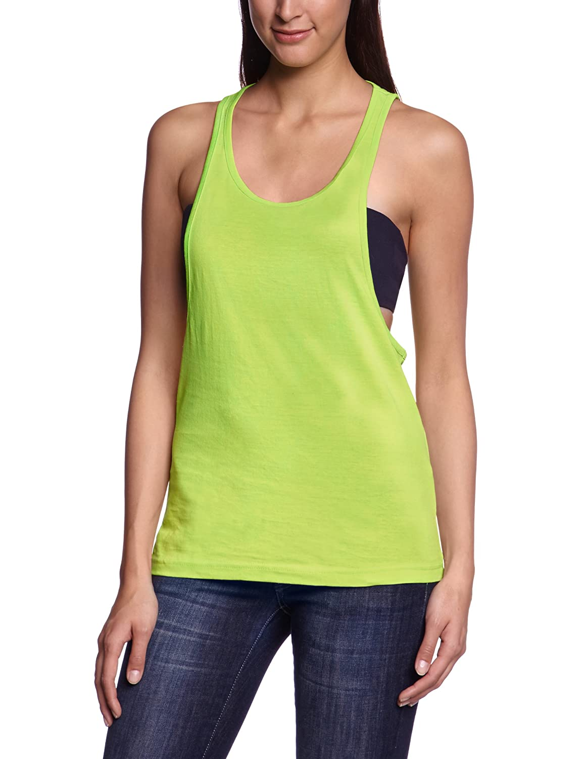 Womens Ladies Neon Tanktop Tank Top Urban Classic Purchase Cheap Price Free Shipping Order Affordable Sale Online With Paypal Sale Online Cheap Sale Websites cph1HkNrd