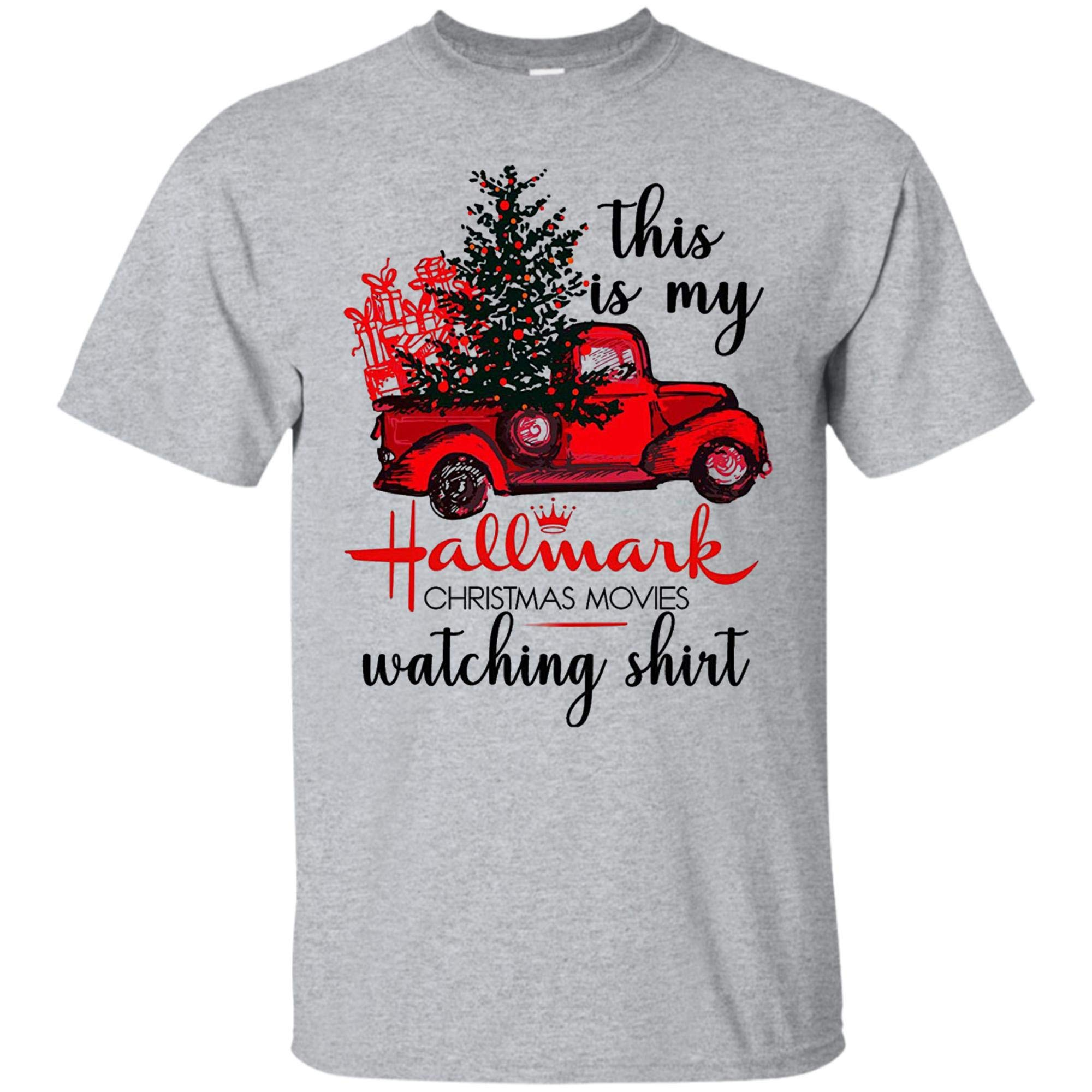 This Is My Hallmark Christmas Movies Watching Shirt For Woemn And 8149