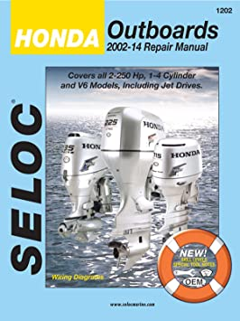 Sierra International Seloc Manual 18-01200 Honda Outboards Repair ...