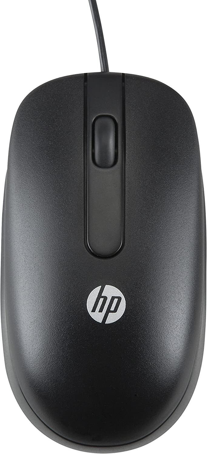 HP USB 1000dpi Laser Mouse - Laser - Cable - USB - 1000 dpi - Scroll Wheel - Symmetrical