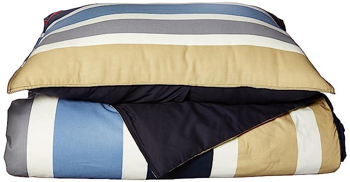 Nautica  Bradford Cotton 3-piece Duvet Cover Set