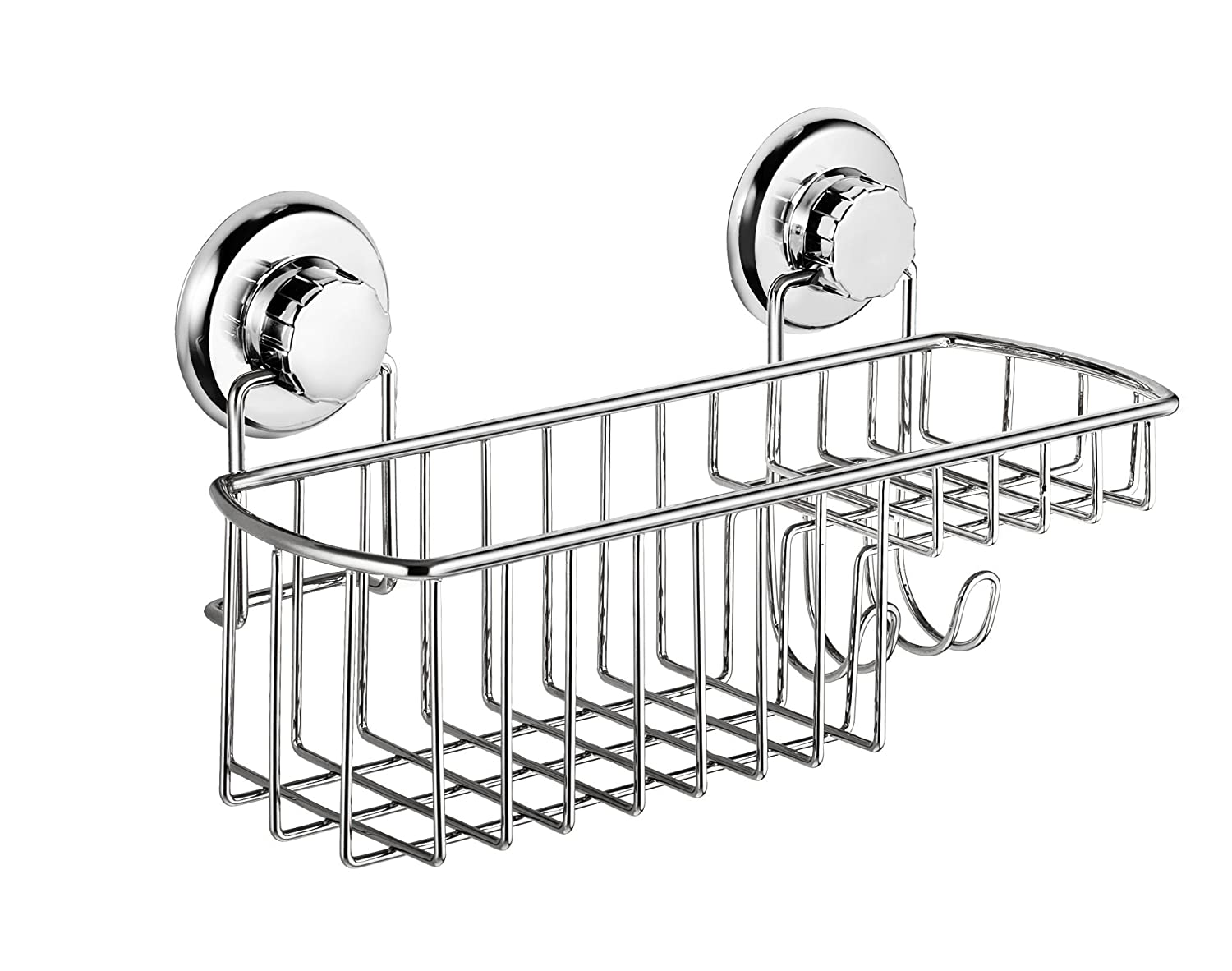 HASKO accessories - Powerful Vacuum Suction Cup Shower Caddy Basket ...