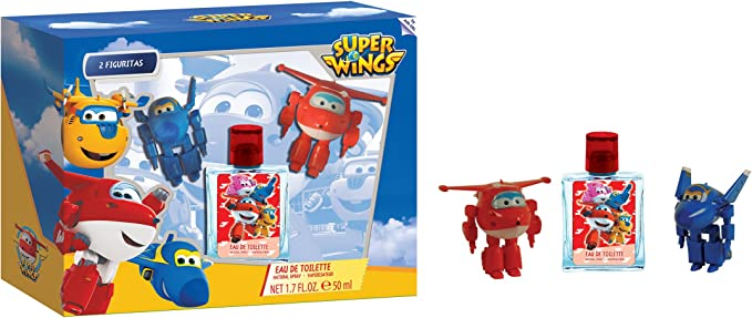 Superwings Eau de Toilette y Figuritas - 1 Pack: Amazon.es: Belleza