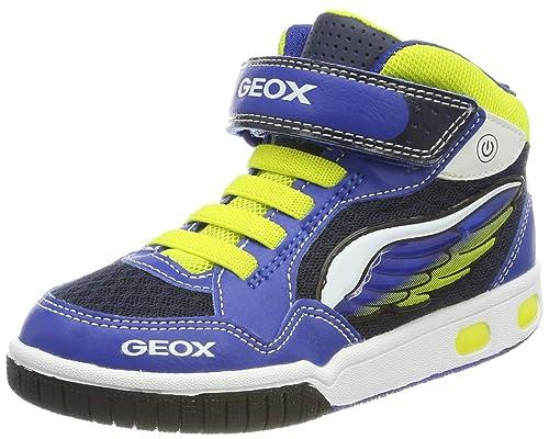 Geox Jr Gregg Lime, Zapatillas Altas para Niños: Amazon.es: Zapatos y complementos