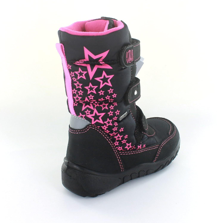 0c3142b81a8ed1 RICHTER Boots Gr. 25 schwarz fuchsia Mädchenschuhe Winter Stiefel SympaTex   Amazon.de  Schuhe   Handtaschen