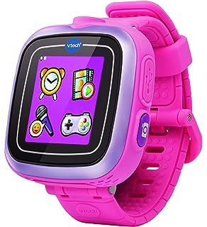VTech - Kidizoom Reloj Inteligente Infantil, Color Rosa, versión Inglesa