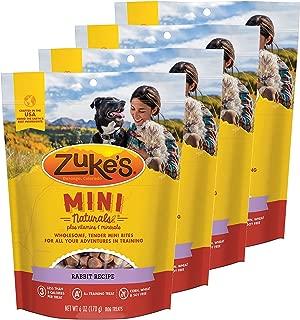product image for Zuke's Mini Naturals Dog Treats Rabbit Recipe 6 oz 4 Pack
