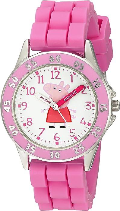 Peppa Pig Kids PPG9000 Analog Display Japanese Quartz Pink Watch