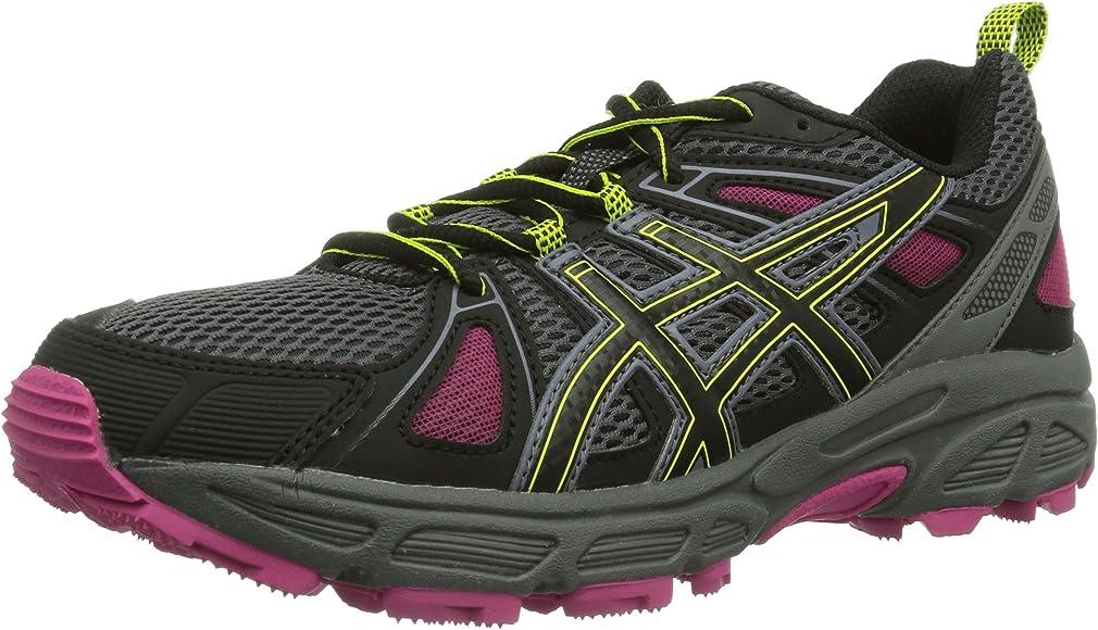 ASICS Gel-Trail-Tambora 4 - Zapatillas De Correr En Montaña para mujer, Charc/Blk/Lime, 42.5 EU (6 Damen UK): Amazon.es: Zapatos y complementos