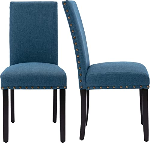 LSSBOUGHT Set of 2 Fabric Upholstered Dining Chair