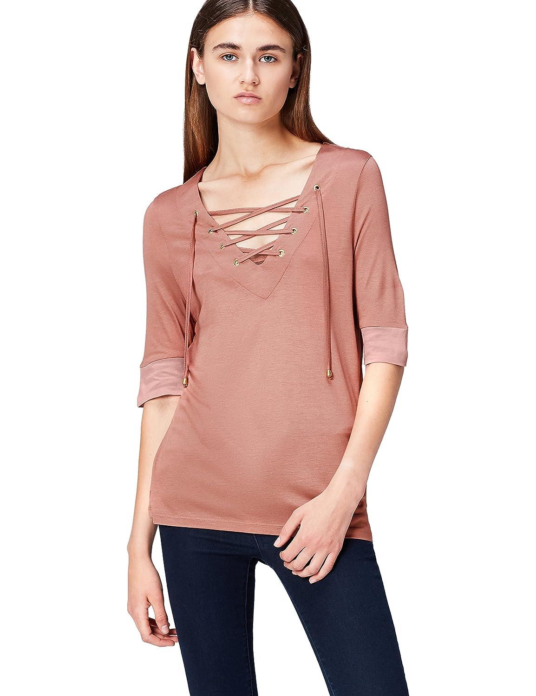 FIND Women's V Neck T-Shirt