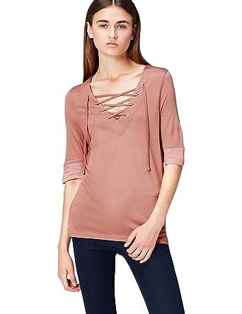 Find Et Shirt Col Accessoires V FemmeVêtements T 80mNOyvwn