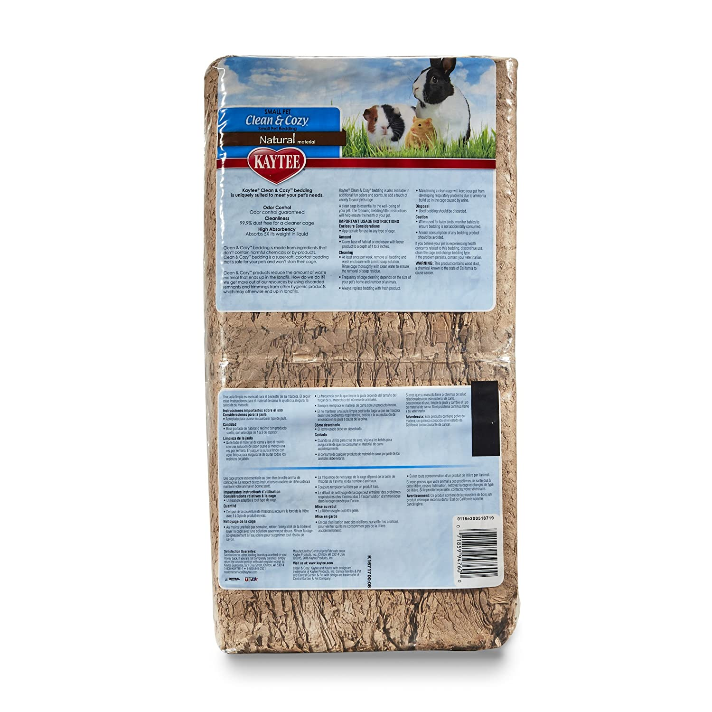 Kaytee - Sustrato de virutas de Papel Muy Absorbente para roedores Clean & Cozy: Amazon.es: Productos para mascotas