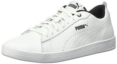 a80c4b3b999 PUMA Women's Smash WNS v2 Leather Perf Sneaker