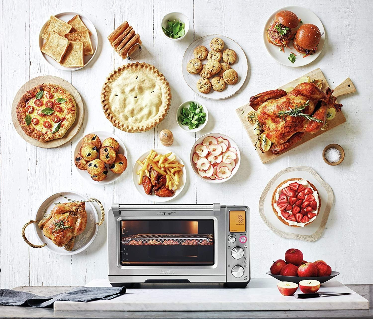 Breville The Smart Oven Air Bov900bss Airfryer Dehydrator