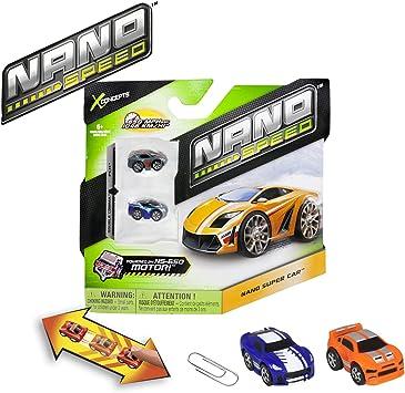Nano Speed Spin Master 6019550, Pack de 2 Coches en Miniatura ...