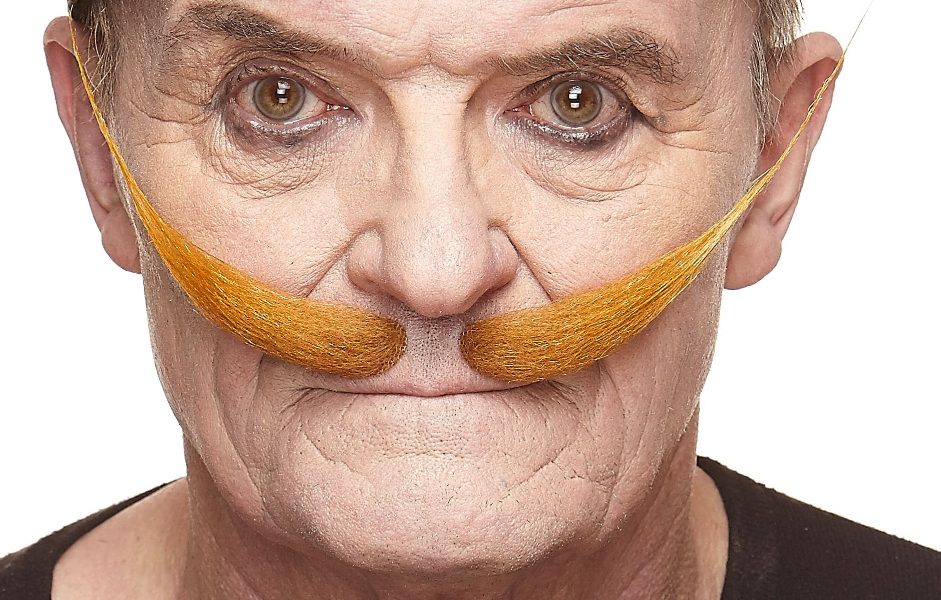 Mustaches Self Adhesive, Novelty, Fake Dali, Ginger Color