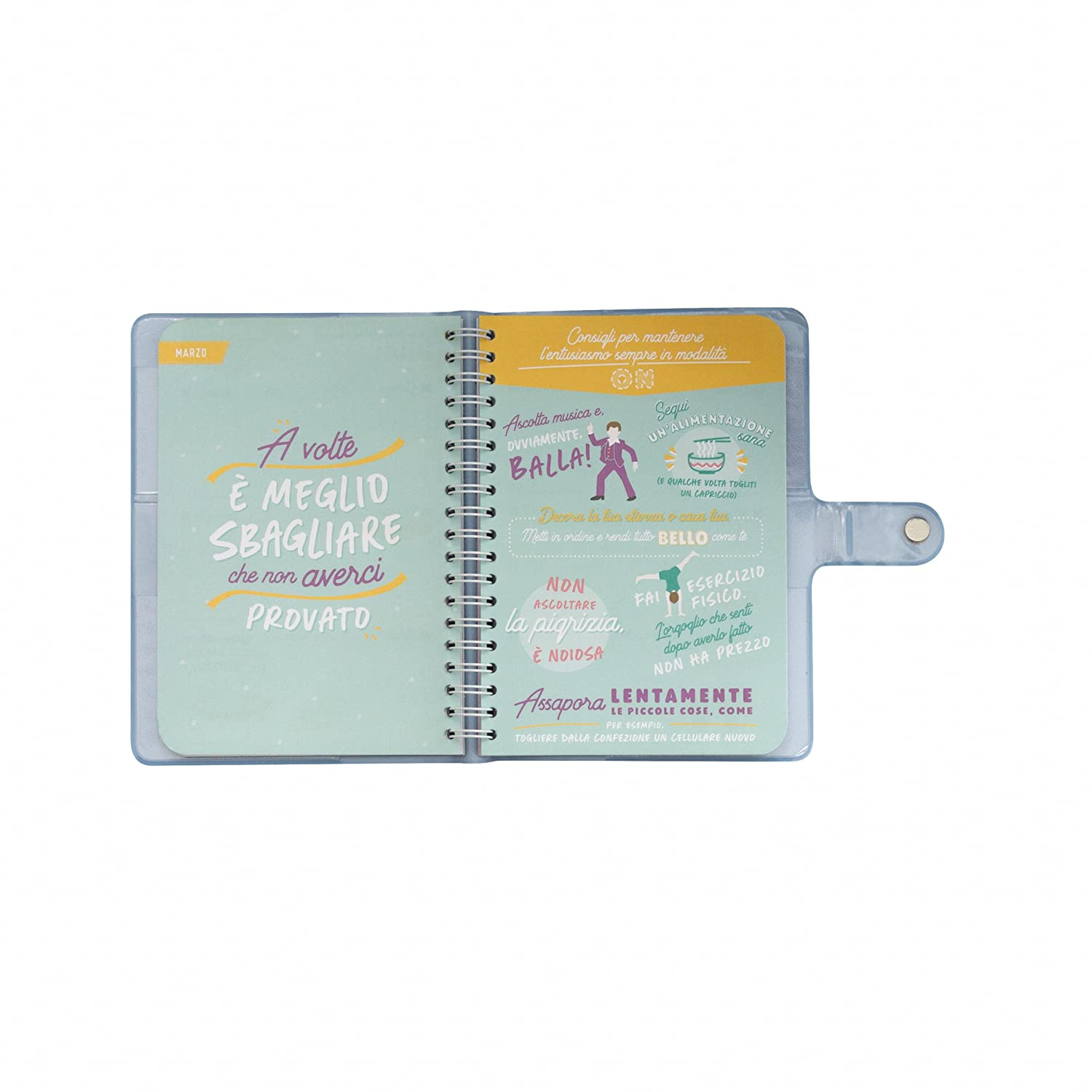 Amazon.com : Mr. Wonderful Agenda Annual Weekly Classic ...